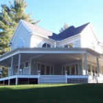 Omnibus Designs LAKE VIEW HOME AND PORCH