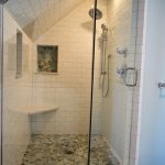 Omnibus Designs, Ardrey Project, Custom tiled shower