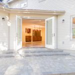 kitchen entry exterior Omnibus Designs, Sabo Project, Deerfield, MA